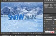 آموزش ساخت ذرات برف , Snow Particle