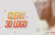 پروژه های آماده افترافکت Clean 3D