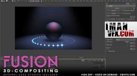 آموزش کامپوزیت سه بعدی با فیوژن , cmiVFX - 3D Compositing in Fusion