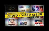 پروژه آماده افترافکت  Album Memories