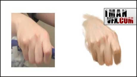 آموزش فتوشاپ,نقاشی دیجیتالی دست