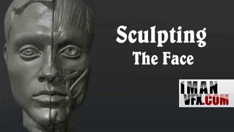 آموزش طراحی صورت کاراکتر در زی براش , Face Sculpting in Z-Brush
