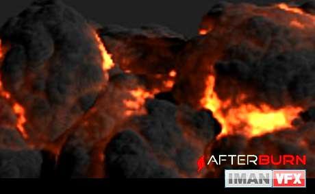 پلاگین AfterBurn ورژن 4.1 برای 3Ds Max 2012 و  2013