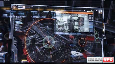تکنولوژی User Interface پیشرفته در سینما