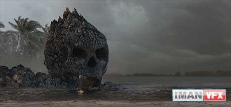 محیط های اسرارآمیز CG : سرزمین جمجه خاکستری