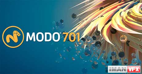 MODO 701  ویژگی های جدید و آموزش