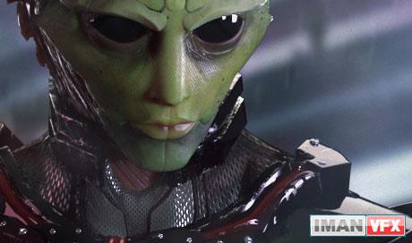 هنر 3D : وارو کریوس - شخصیت فیلم های علمی تخیلی