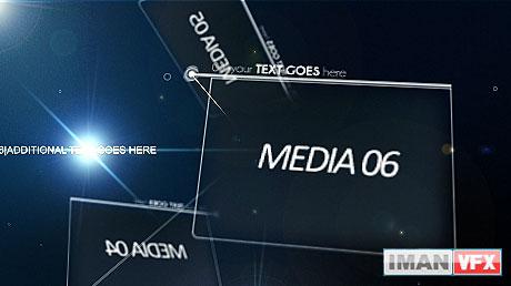 پروژه آماده افترافکت Business Points از Videohive