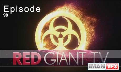 آموزش افترافکت RedGiant TV , اپیزود 98 ردجیانت