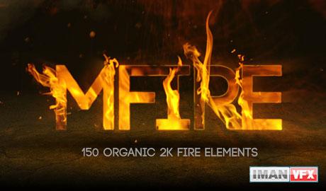mFire, کلیپ آماده آتش , محصول MotionVFX