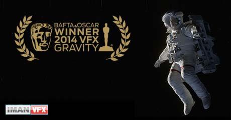 Gravity برنده اسکار جلوه های ویژه 2014 و برنده Special Visual Effects Bafta 2014