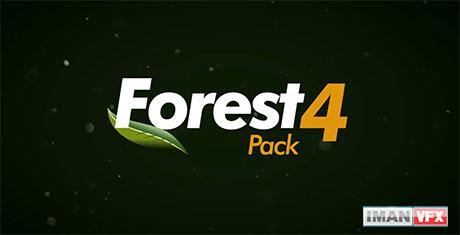 ویژگی های جدید Forest Pack 4