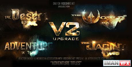 پروژه آماده افترافکت Adventure Titles از Videohive