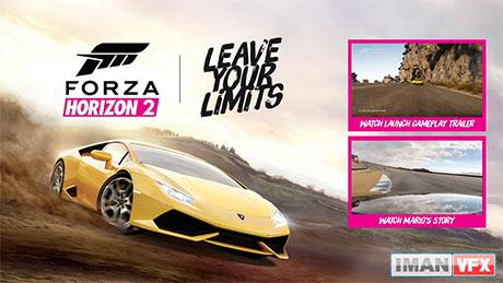 Forza Horizon 2 Making Of,تیزر تبلیغاتی Forza Horizon 2