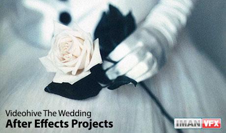 میکس و مونتاژ,پروژه آماده افترافکت برای میکس و مونتاژ فیلم عروسی