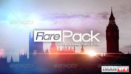 GraphicRiver - DBD FlarePack PRO - 10 High-Res Flare
