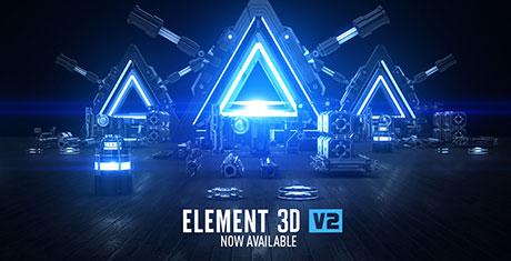 دانلود Element 3D V2 , دانلود Motion Design V2 , دانلود BackLight Environments