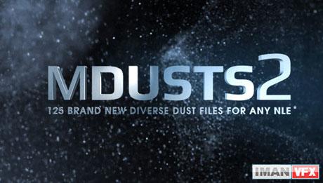 mDusts 2 , کلیپ های پارتیکل و ذرات mDusts 2 از MotionVFX