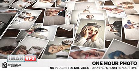 دانلود پروژه آماده افترافکت Videohive به نام One Hour Photo