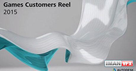 Autodesk Show Reel 2015 , Autodesk Games Customers Reel GDC 2015