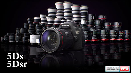 Canon Eos 5Dsr و Canon Eos 5Ds,معرفی دوربین های جدید Canon
