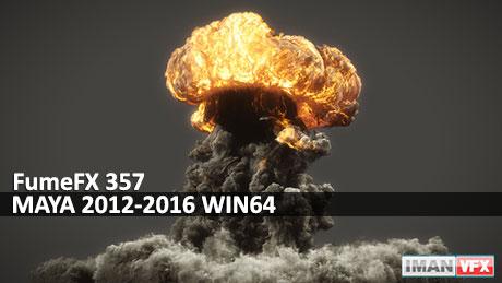FumeFX 357 MAYA 2012-2016 WIN64,دانلود پلاگین FumeFX 357 برای Maya 2016