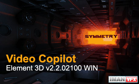 دانلود رایگان پلاگین Video Copilot Element 3D v2.2.02100 WIN