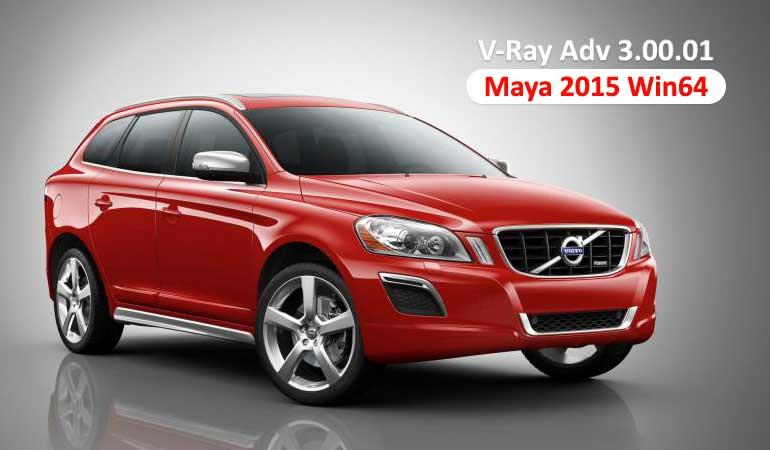دانلود V-Ray Adv 3.00.01 برای Maya 2015 Win64