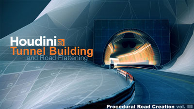 Procedural Road in the Houdini