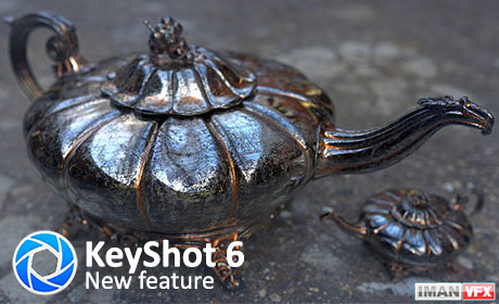 KeyShot 6 New Feature and Spotlight