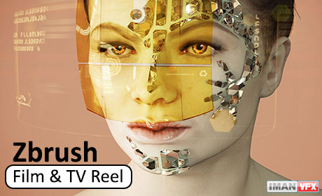 Zbrush Film & TV Reel 2015