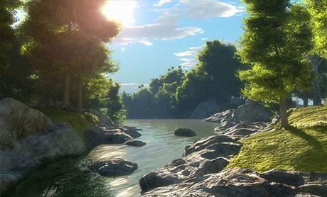 آموزش VUE برای ساخت مناظر طبیعی