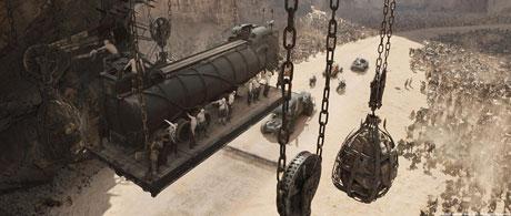 پشت صحنه جلوه های ویژه Mad Max Fury Road