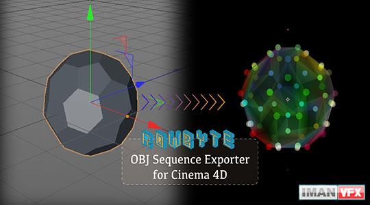 دانلود Plexus OBJ Sequence Exporter برای Cinema 4d