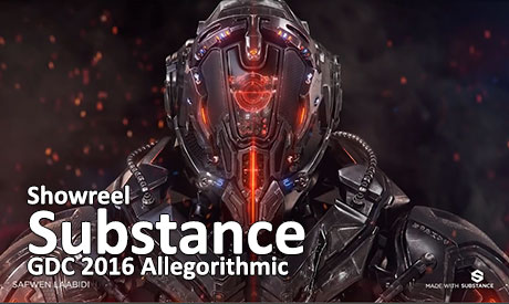 دانلود GDC 2016 Allegorithmic Substance Showreel