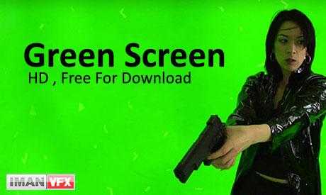 دانلود کلیپ پرده سبز کروماکی Green Screen Plates