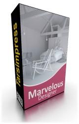Marvelous Designer نرم افزار طراحی لباس