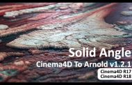 Solid Angle Cinema4D To Arnold v1.2.1 برای Cinema4D R18 و R17