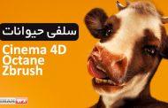 سلفی حیوانات آثار 3D با Cinema 4D و Zbrush