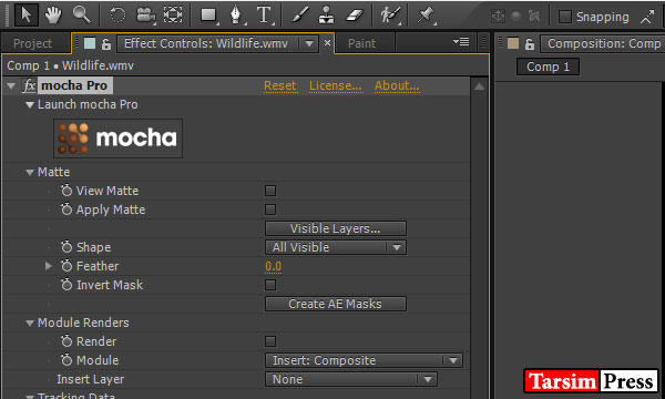 دانلود پلاگین Imagineer Systems Mocha Pro Adobe Plugin v5.1.1