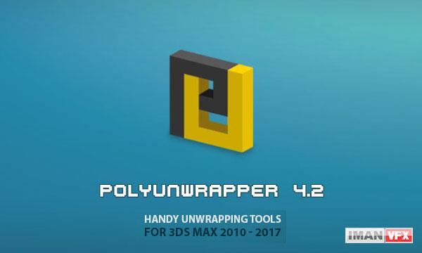 دانلود PolyUnwrapper v4.2.7 برای 3ds Max 2010-2017