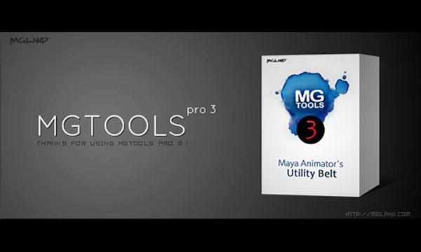 دانلود MGTOOLS 3.1 برای مایا 2015 – 2017