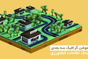تیزر موشن گرافیک سه بعدی بانک اطلاعات کشاورزی