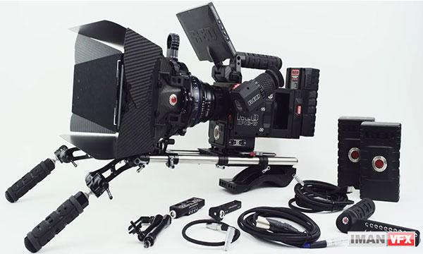انعطاف پذیری دوربین RED Epic-W