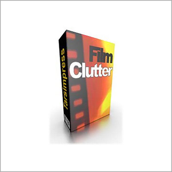 افکت های نوری Film Clutter