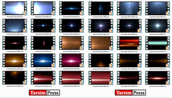نورهای سینماتیک رمپانت Rampant Studio Flares