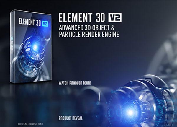 پلاگین Element 3d V2 از ویدئو کوپایلت