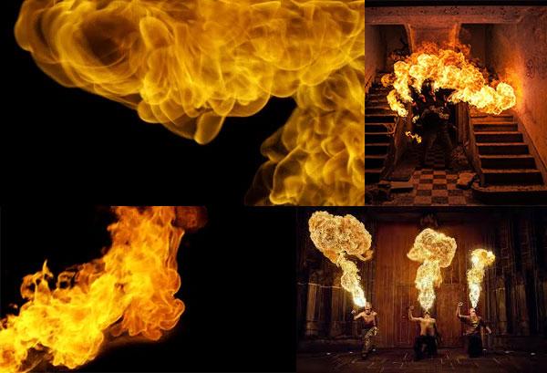 کلیپ آتش mFire از MotionVFX