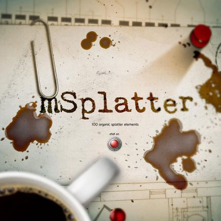 فوتیج پاشیدن mSplatter از MotionVFX