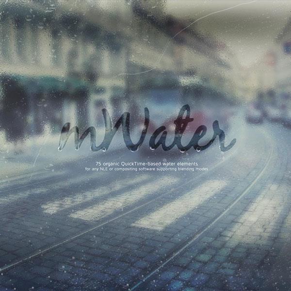 کلیپ آب و باران mWater از MotionVFX